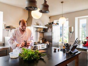 Vincent Cuisinier de Campagne à COTEAUX-SUR-LOIRE - 3  © Jean-Christophe COUTAND